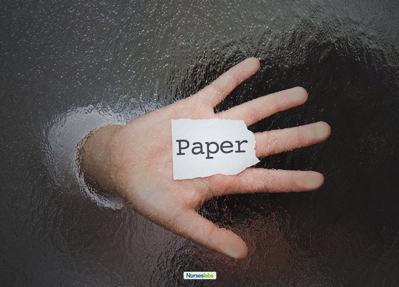 Paper: A Nursing Short Story