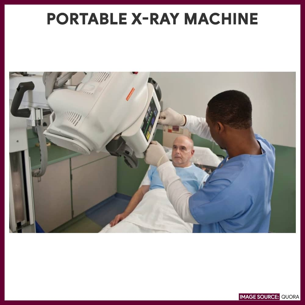 Portable X-Ray Machine-Chest-Xray