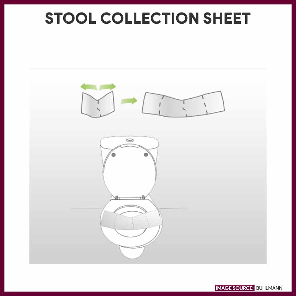 Stool collection sheet