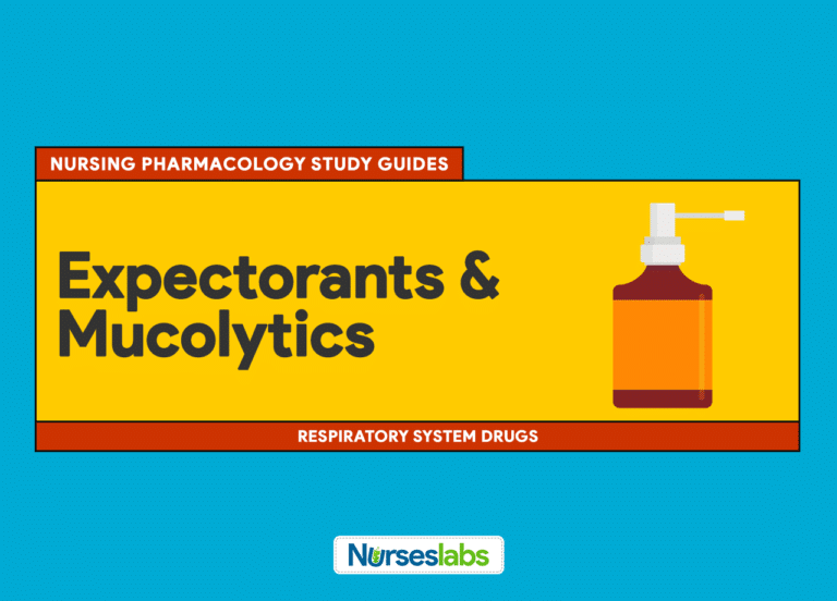 Expectorants and Mucolytics Nursing Pharmacology Study Guide