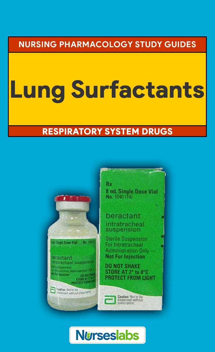Lung Surfactants Nursing Pharmacology Guide