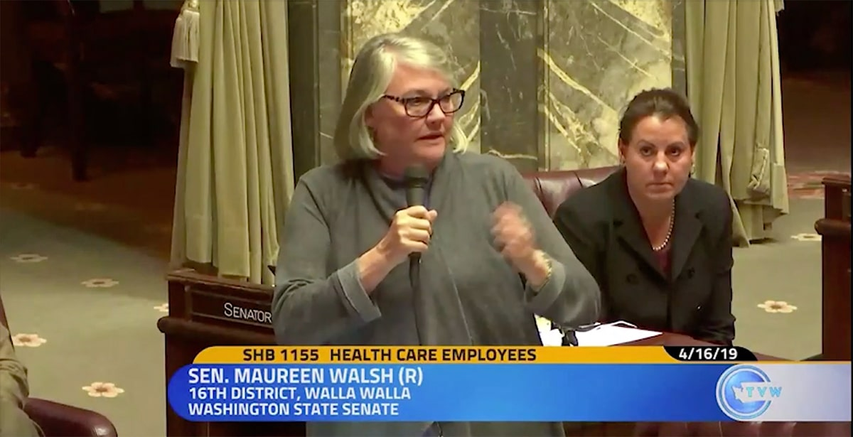 Sen. Maureen Walsh. Image via: Tri-City Herald
