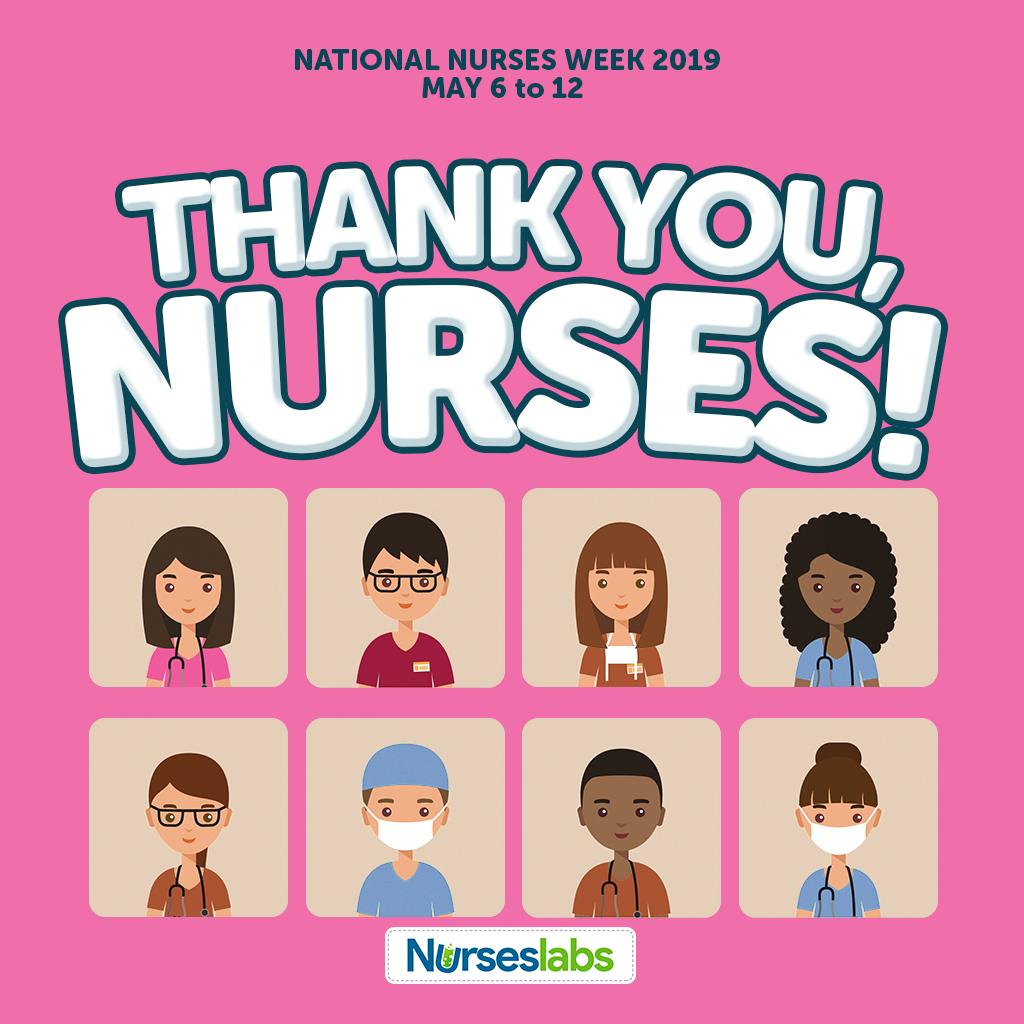 Thank You Nurses - Pink