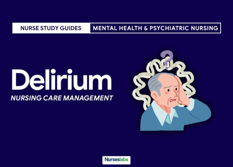 Delirium Nursing Care Management and Diagnosis
