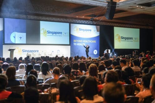 Attendees of the ICN Congress Singapore 2019. Image via: ICN.ch