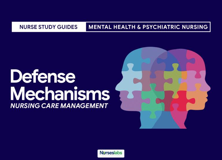 Defense Mechanisms Nursing Care Management