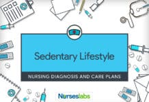 Sedentary Lifestyle Nursing Diagnosis