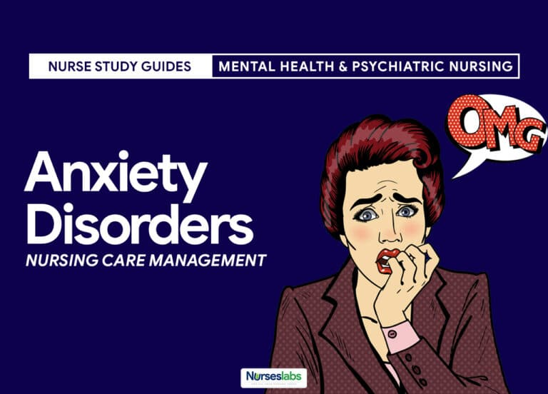 Anxiety and Panic Disorders Nursing Care Management
