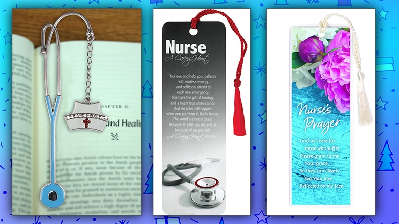 Nursing bookmarks gift