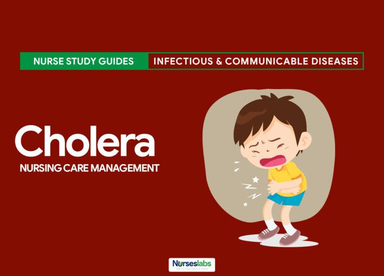 Cholera Nursing Care Management