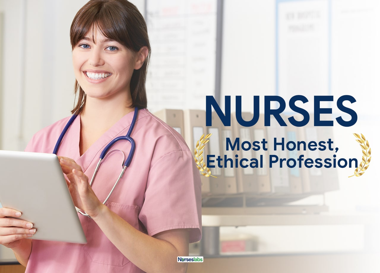 Nurses Most Honest, Ethical Professionals Gallup Poll 2019-2020