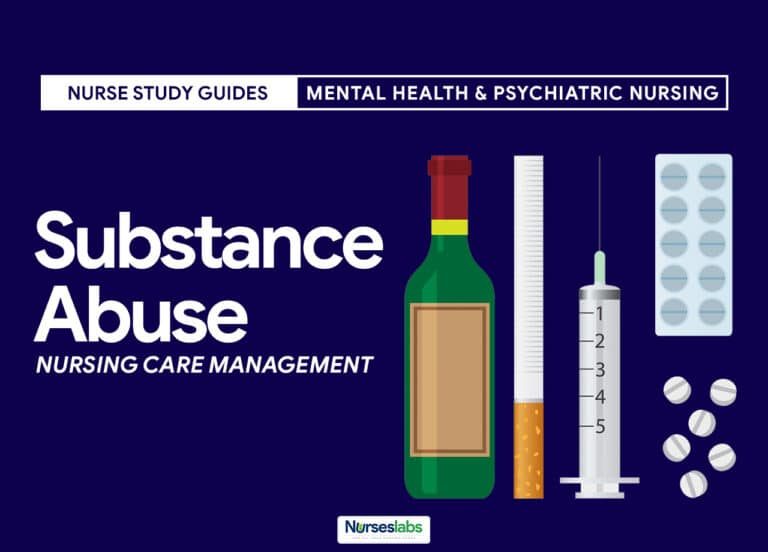 Substance Abuse Disorders Nursing Care Management