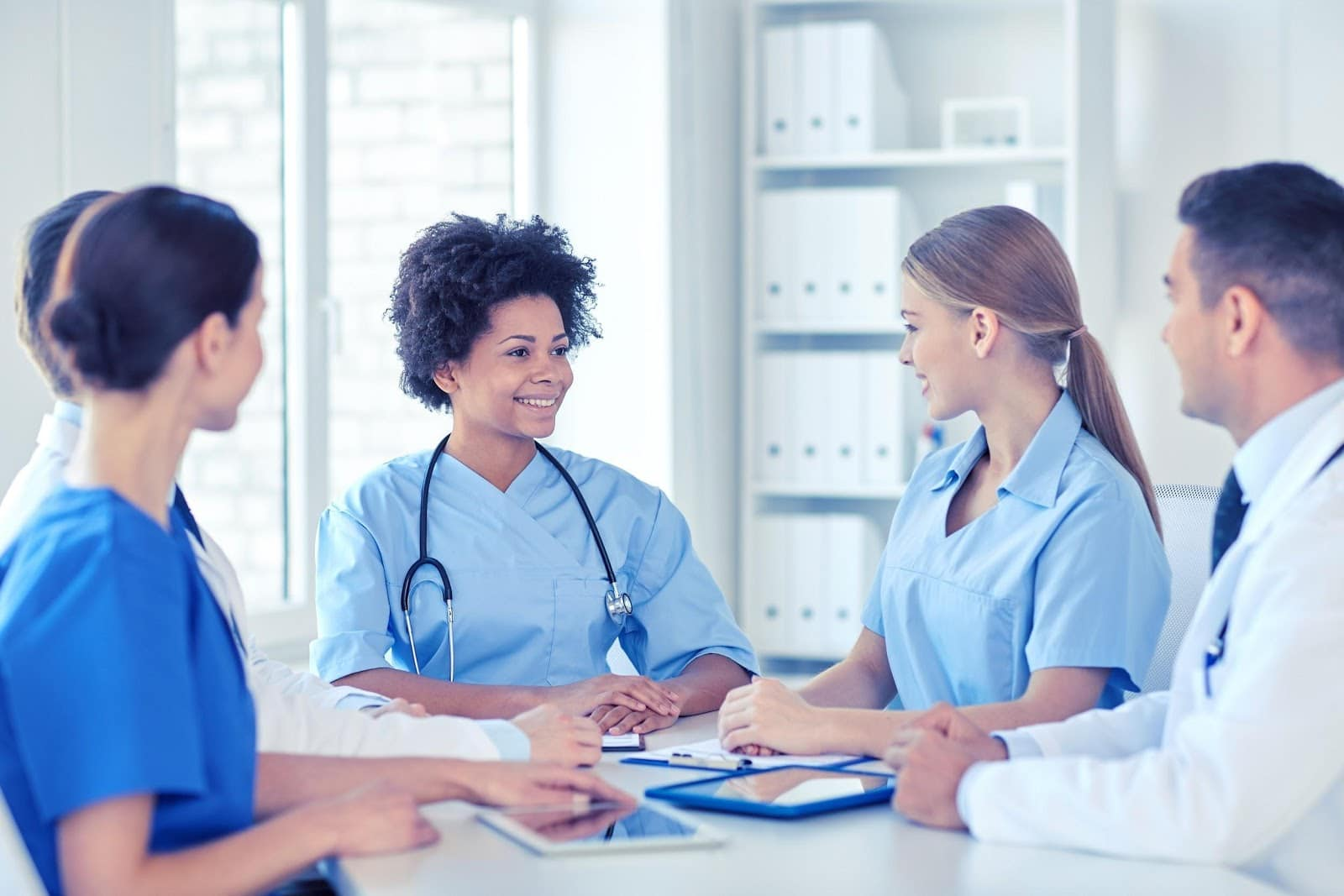 Group meeting for 2020 Year of the Nurse