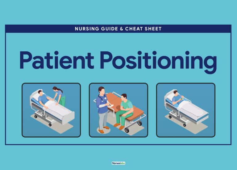 Guide to proper common patient positionings for nurses.