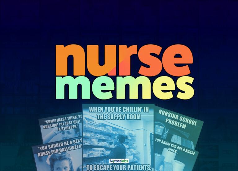 Collection of the funniest nurse memes, nurses week memes, nursing school memes!