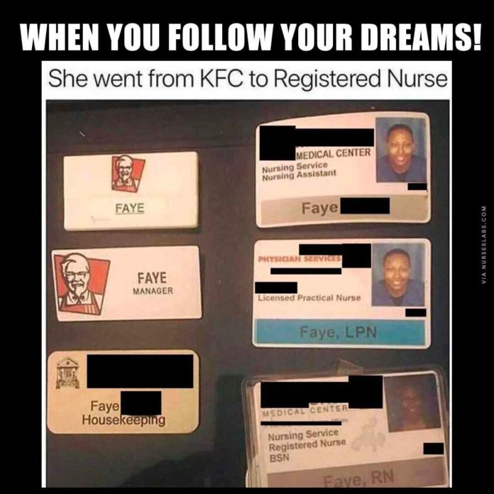 Follow Your Nursing Dreams!