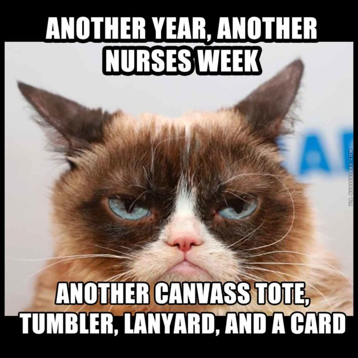 Grumpy Cat Nurses Week Meme