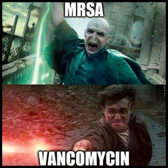 Harry Potter, Voldemort Nurse Meme: MRSA vs Vancomycin