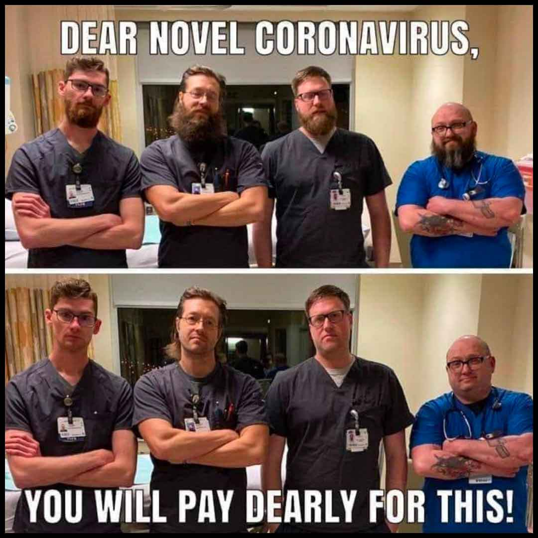 Male Nurse Memes: Male Nurses Declaring All Out War on COVID19