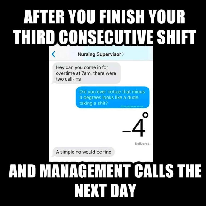 Management Calling You Next Day Meme