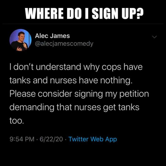 Tanks for nurses