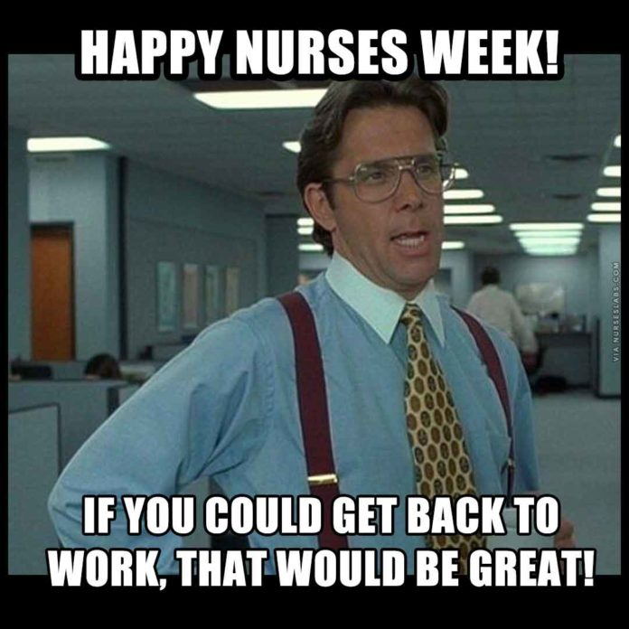 Nurses Week Meme