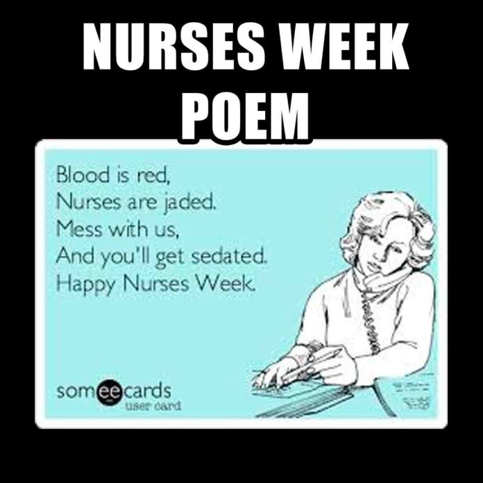 Nurses Week Poem