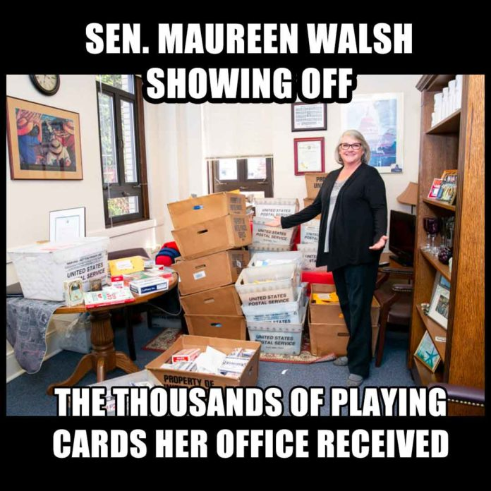 Nurses Playing Card Meme: Maureen Walsh Deck