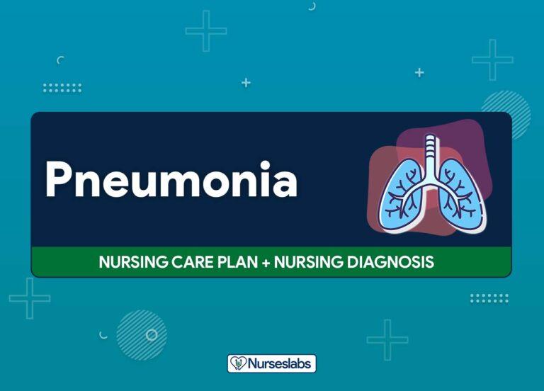 11 Pneumonia Nursing Care Plans